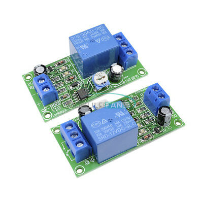 DC 12V NE555 0~60 Seconds Delay Timer Time Switch Adjustable Time Relay Module