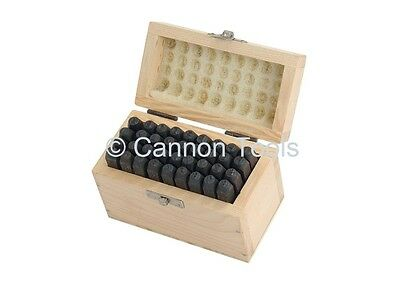 Letter And Number Stamp Set A - Z 0 - 9  4mm Punches Kit High Quality CT0486