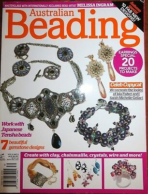 Australian Beading vol.6 No.2 Earrings Special, Autumn Special magazine