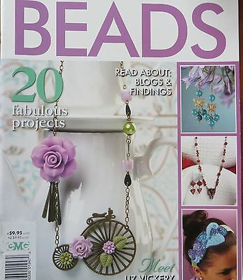 Brilliant Beads~20 Projects~Jewellery~Candle Collar~Headband~Cushion~