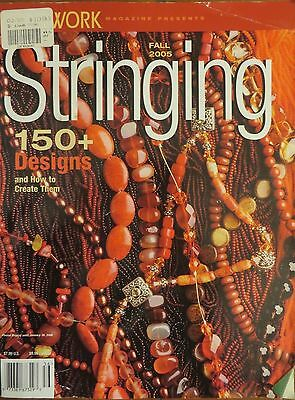 Beadwork Stringing Fall 2005  magazine 150 Designs & how to create them
