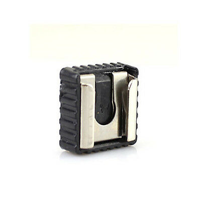 """New Flash Hot Shoe Mount Adapter to 1/4"""" Thread for Studio Light Stand/Tripod GS"""
