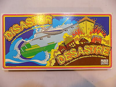 Vintage 1979 Disaster Board Game by Parker Brothers Complete
