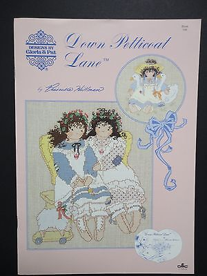 Cross Stitch Book-Down Petticoat Lane- Designs by Gloria & Pat