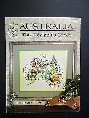 "Cross Stitch Pattern- ""Australia...The Continents Series"""