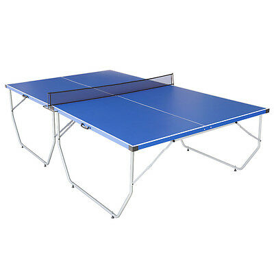 HLC 9ft Full Size Portable Folding Table Tennis Table Ping Pang Table With Net