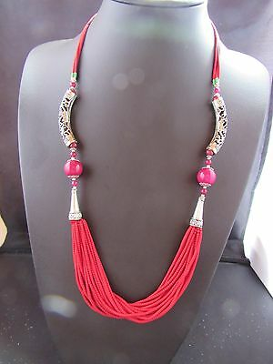 Afghan Necklace Beads Tribal Authentic Ethnic Handmade