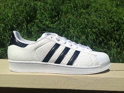 New Mens Adidas Originals Superstar Shoes  White/black/white 100% Authentic