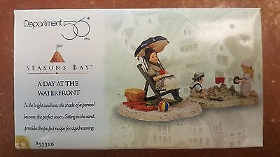 Dept 56 Seasons Bay A Day at the Waterfront #53326