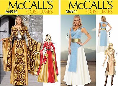 McCall's Sewing Pattern Misses' Costumes Game of Thrones Medieval Dress Tabard