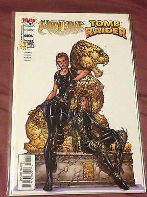 Witchblade / Tomb Raider #1 (1998) NM Condition
