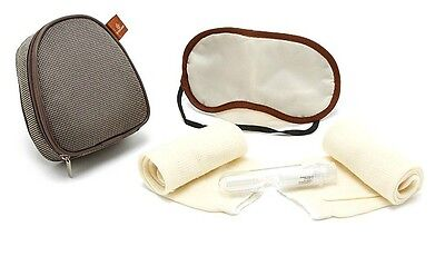 Emirates airlines small purse pocket Travel Amenity Kit Bag with Accessary
