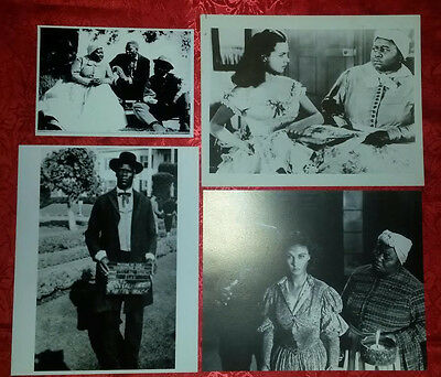 Gone With the Wind Set of 4 Mammy, Pork, Jeems GWTW Photos ~ FREE Shipping!