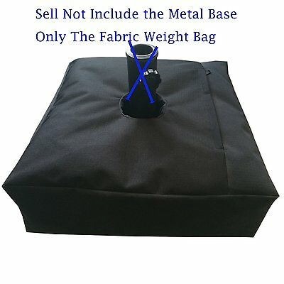 """18""""x18"""" Square Weight Sand Bag For Umbrella Base Stand Outdoor Patio Up to 100Lb"""