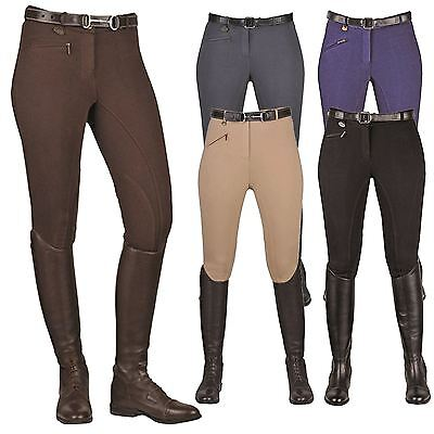 HKM Junior Ladies Soft & Comfort Breathable Stretch Horse Riding Brest Breeches