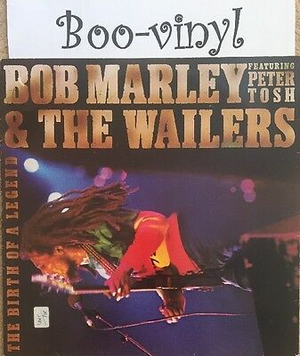 Bob Marley & The Wailers featuring Peter Tosh - The Birth Of A Legend - vinyl LP
