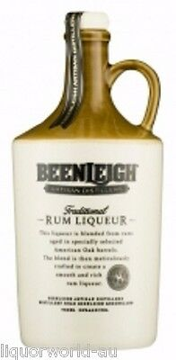 Beenleigh Traditional Rum Liqueur Ceramic Bottle - 750mL 20% Alc/Vol