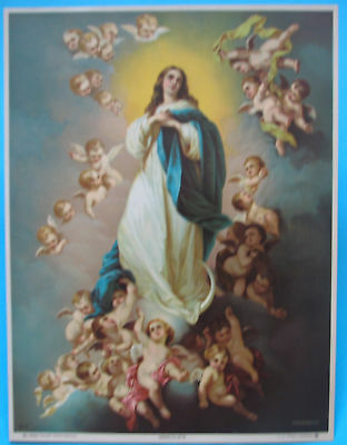 The Immaculate Conception  CHROMOLITHO PRINT