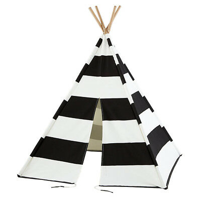 Kids Giant Canvas WIGWAM TEEPEE Play Tent Childrens Indoor Party Garden Tepee
