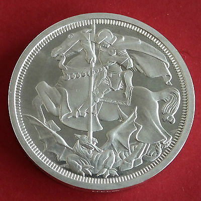1911 George V Silver Proof Pattern George And The Dragon Crown
