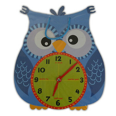 Telling The Time Clock - Teaching Numbers Early Learning Aid Kids Toy Play Games