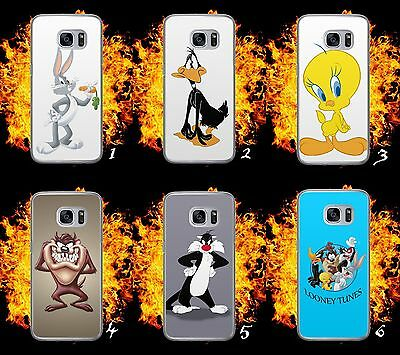 Bugs Bunny/taz/tweety/looney Tunes/hard Phone Case/cover/shell For Samsung Model
