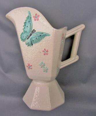 "HULL POTTERY - BUTTERFLY 8¾"" Pitcher / Ewer circa 1956"