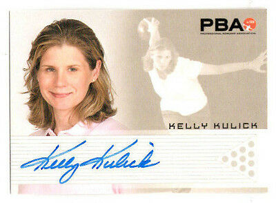 2008 PBA Rittenhouse Archives KELLY KULICK Autograph RC Denny's Tour BOWLING