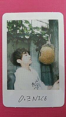 SEVENTEEN HOSHI Official Photocard #2 VERY NICE 1st Repackage Album 호시