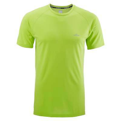Kathmandu driMOTION Mens Short Sleeve Tee Active Running Sports T-Shirt Green