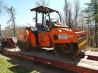 2007 HAMM HD120VO Compactor Smooth Drum Asphalt Roller RUNS EXC Oscillating