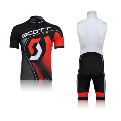 CU-821 New men cycling jeresy Cycling clothes + bib shorts set Race Fit GEL PAD