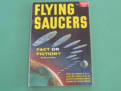 Space 1957 UFO Flying Saucers Book 128 pages Photographs throughout Trend Book