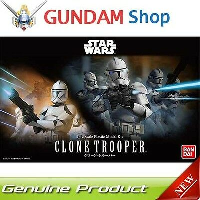 BANDAI Star Wars 1/12 Clone Trooper No. 207574 JAPAN