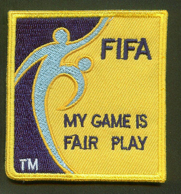 FOOTBALL SOCCER Referee Coach Embroidered Iron On Cloth Shoulder Patch