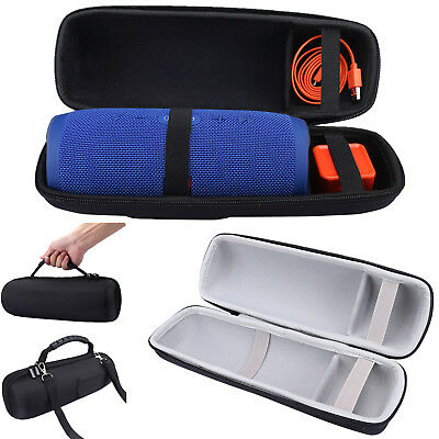 Carry Hard Case Bag Zipper Pouch For JBL Charge 3 Bluetooth Speaker and Charger