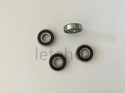 5/10/20pcs Rubber Sealed Ball Bearing 605-2RS To 609-2RS Deep Groove Bearings