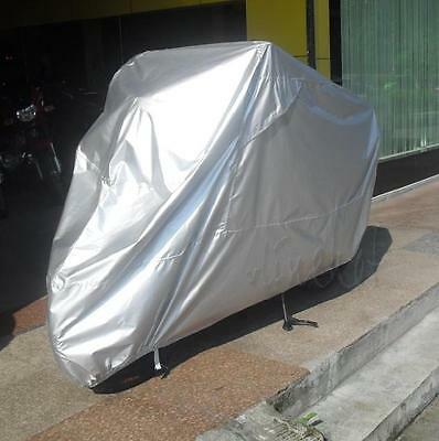 L Silver Motorcycle Cover Waterproof For BMW K R 75 100 1100 1200 1300 1600