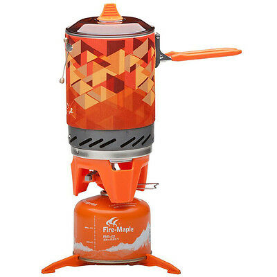 Fire-Maple Outdoor Cooking Camp Stove with Piezo Ignition POT Support & Stand