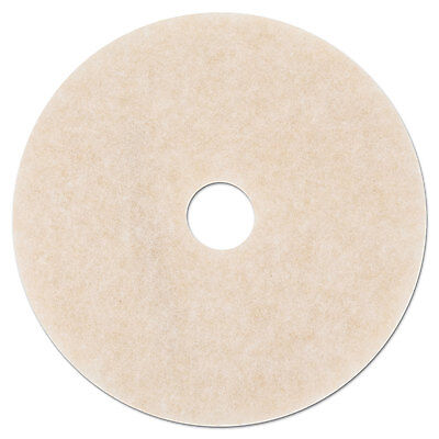 3M Ultra High-Speed TopLine Floor Burnishing Pads 3200 20-Inch White/Amber 18066