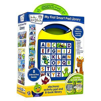 New Baby Einestein My 1st Smart Pad Library 8 Book Library 100's of Activities