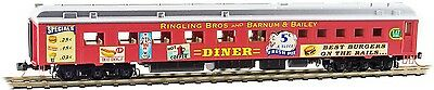 Micro-Trains MTL N-Scale 80ft Heavy Dining Passenger Car Ringling Bros. Diner