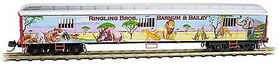 Micro-Trains MTL N-Scale 70ft Heavyweight Horse Car Ringling Bros. Menagerie