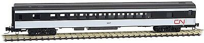 Micro-Trains MTL Z-Scale Pullman Baggage Passenger Car Canadian National/CN