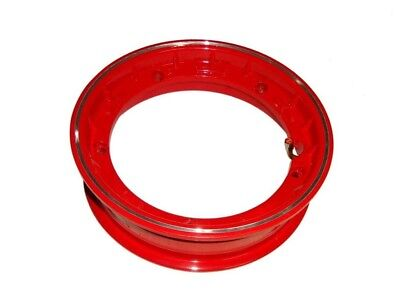 2.50x10 Inches Red Tubeless Wheel Rim For Vespa PX Models - 10 Pcs