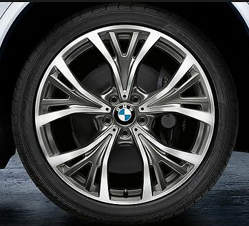 """BMW X5 Summer wheel package 21"""" Style 627"""