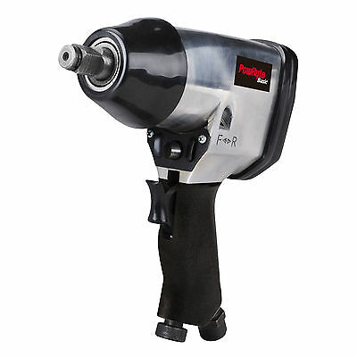 PowRyte Basic 1/2 In. Air Impact Wrench 250 ft-lb of max torque, 7000rpm
