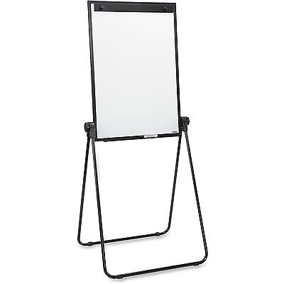 """Lorell 2-Sided Dry Erase Easel 24""""x36""""x67"""" Black 55629"""