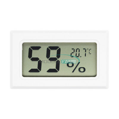 Mini Digital LCD Indoor Temperature Humidity Meter Thermometer Hygrometer M