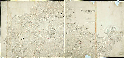 1864 Map of Amelia County Virginia